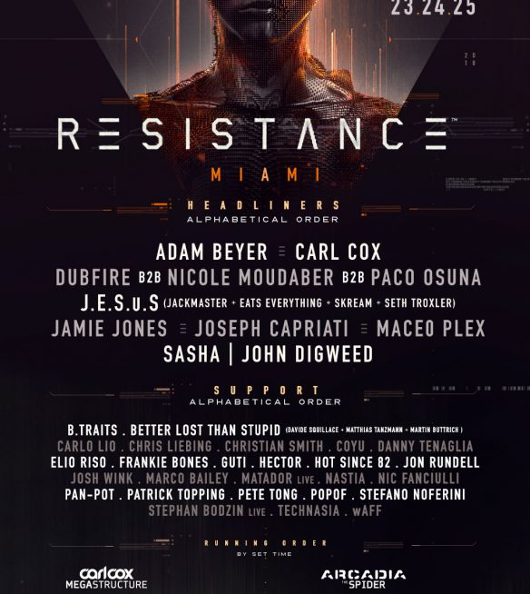 Resistance Miami Lineup 2018 1