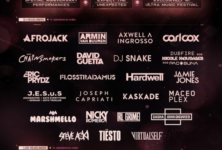 Ultra Music Festival Phase 1