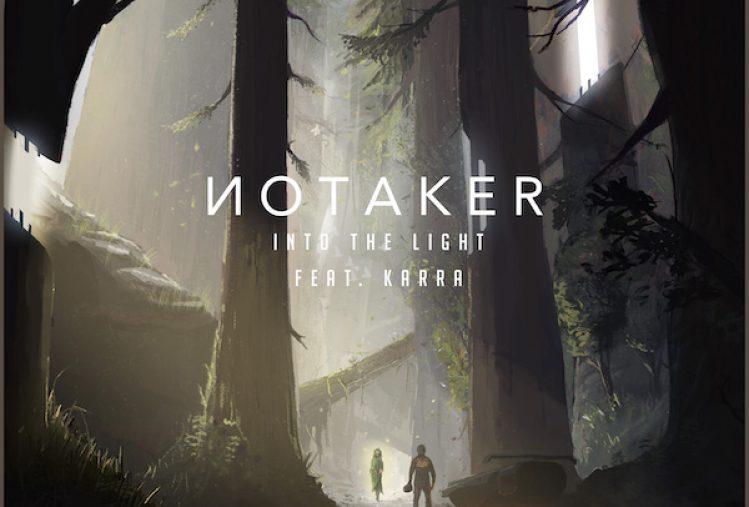 Notaker  Into The Light Feat Karra  Art